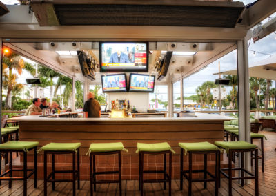 Guy Harvey Outdoor Bar with Signage