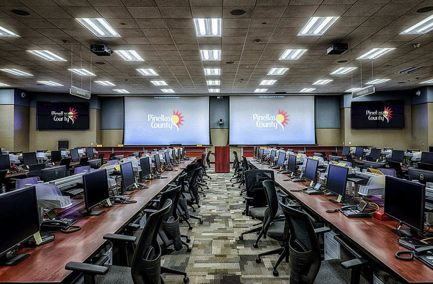 Pinellas County Public Safety Complex Emergency Call Center