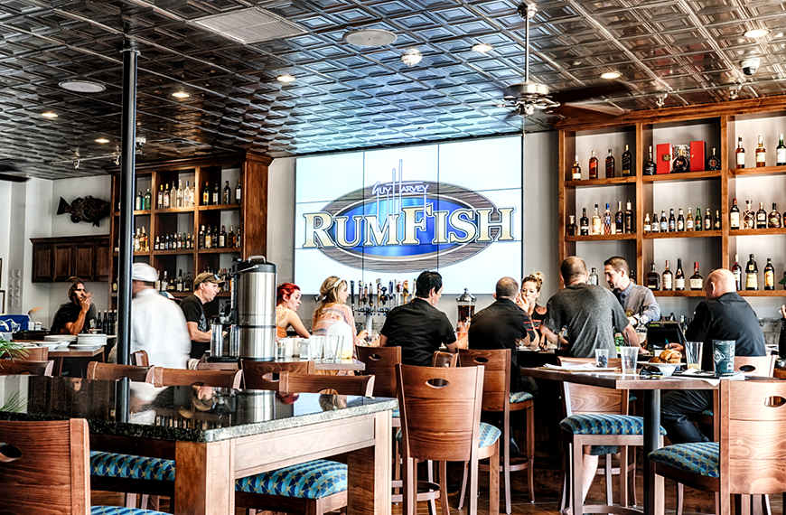 RumFish Grill at Guy Harvey Outpost