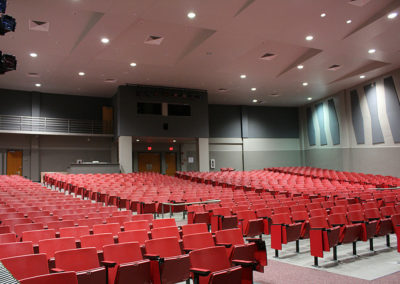 high school auditorium sound system
