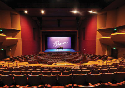 Sharon L. Morse Performing Arts Center Interior